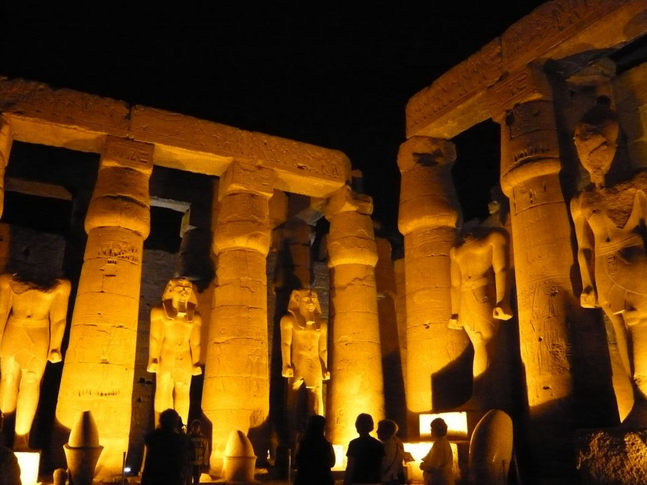 Sound and Light at Karnak